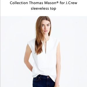 Collection Thomas Mason for J. Crew Sleeveless Top